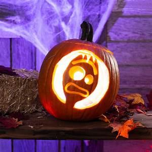 pop, culture, pumpkin, carving, stencils, that, scream, 2019, , printables