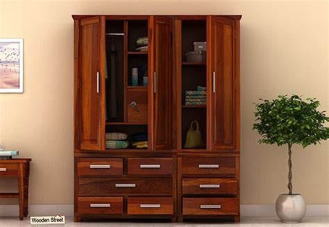 Buy Wooden Wardrobe by Buy The Best Wooden Wardrobe व र डर ब Best Price