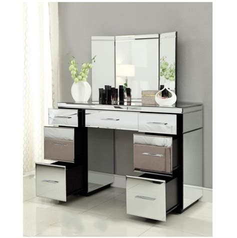 desk with drawers and mirror plan your trendy dressing table design 2017 homedcin com