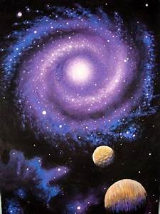 Purple Orange Space Galaxy Painting (page 5) - Pics about ...