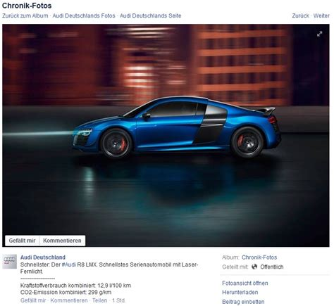 Erste Bmw I8 Werden An Kunden Uebergeben by Audi R8 Lmx Nur Noch Quot Schnellstes Serienautomobil Mit