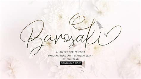modern script fonts   personal  pinspiry