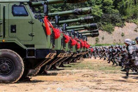 Chinese Army Gets Most Advanced Vehicle-Mounted Howitzer ...