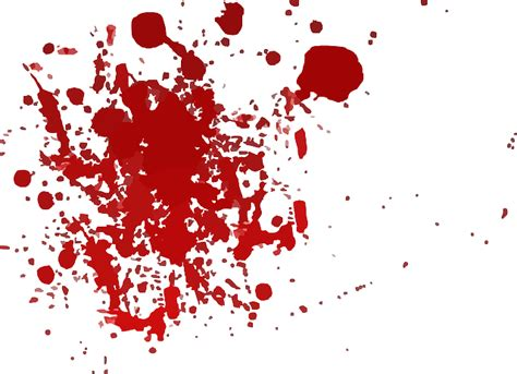 Ink Red Splatter · Free Vector Graphic On Pixabay