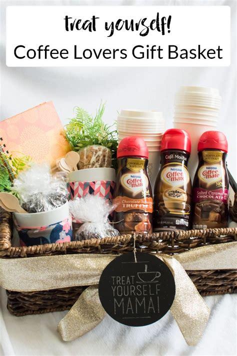 treat  mama  coffee lovers gift basket coffee