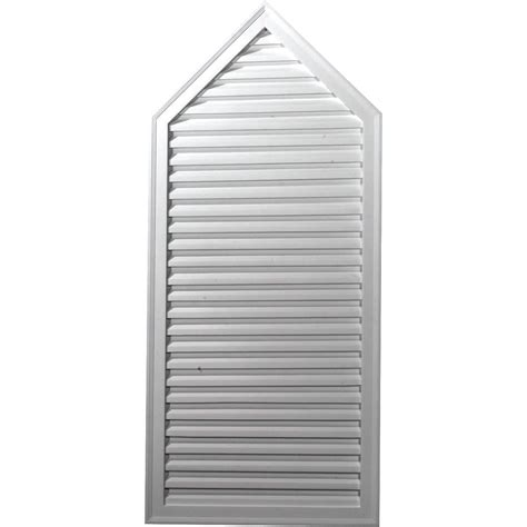 decorative gable vents nz ekena millwork gvpe24x48d 24 inch w x 48 inch h peaked