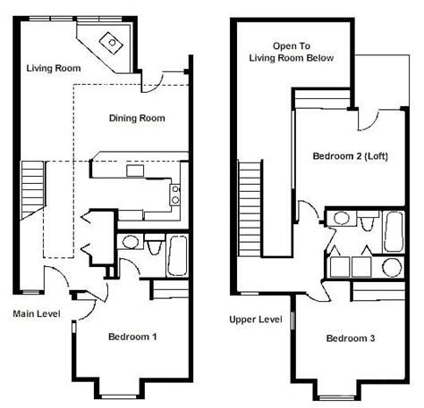 luxury  bedroom  loft house plans  home plans design