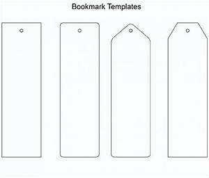 free printable bookmark template word pdf With make your own bookmark template