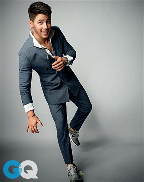 haute nick jonas shows trends for gq magazine jojocrews