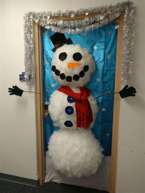 office door decorating ideas office door decoration contest entry styrofoam cup snowman doors