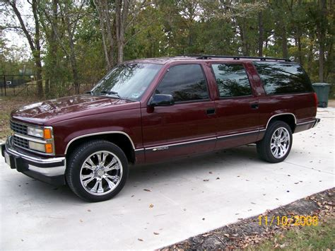 Wesconjr 1993 Chevrolet Suburban 1500 Specs, Photos
