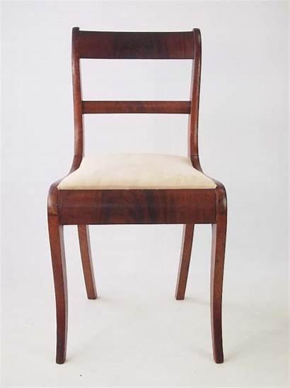 Antique Side Regency Chairs Pair Furniture Biedermeier