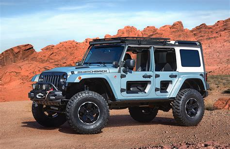 future jeep wrangler jeep unveils several concept vehicles for 2017 moab easter