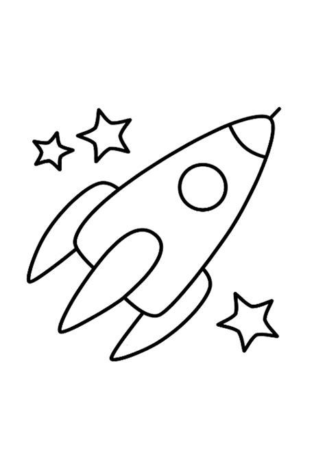 Kleurplaat Raket raket kleurplaat zoeken ruimte