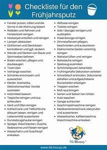 Haushalt Organisieren Checkliste : im fr hling ist gro putz angesagt doch wo fang ich nur an und wie kann ich berpr fen ob ich ~ Markanthonyermac.com Haus und Dekorationen
