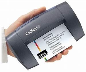 Cardscan office 600c v6 business card scanner scanner for Business card scanning