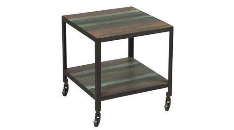 bout de canape design bout de canapé en acier design industriel