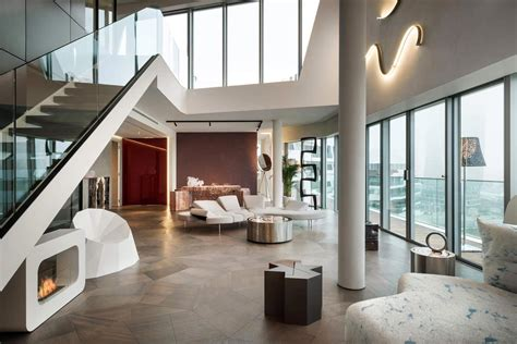 ultra modern penthouse    milano contract district     dream home