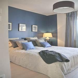 best chambre beige et bleu images design trends 2017 With chambre bleu et beige