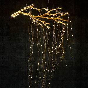 Stargazer Cascade Falls LED String Lights, 7' Terrain