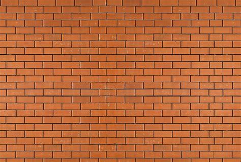 chambre ado vintage papier peint trompe l 39 oeil mur de brique orange
