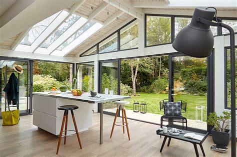 extension cuisine veranda véranda extension cuisine aménager une cuisine dans la
