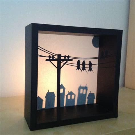 shadow box lighting shadow box for a light scrapbook