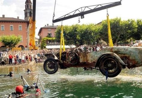 Portugal Car Barn Find by The Ultimate Quot Barn Find Quot The Underwater Bugatti