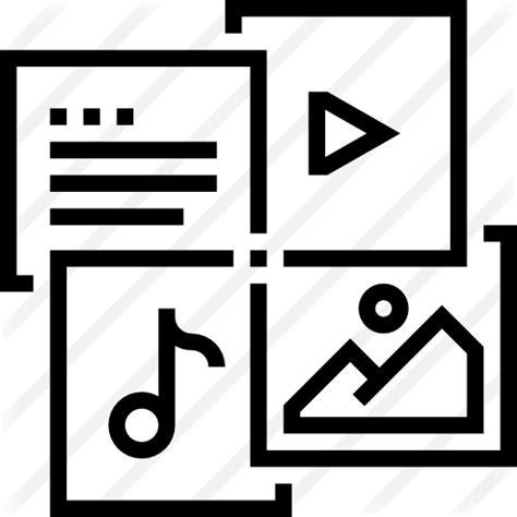 multimedia  multimedia icons