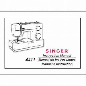 Instruction Manual  Singer 4411 Heavy Duty   Sewing Parts