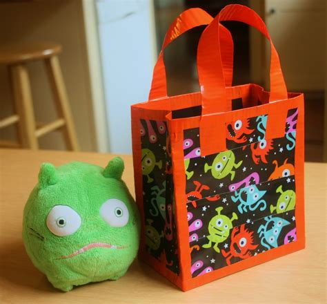 Finding Bonggamom How To Make A Halloween Treat Bag From
