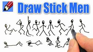 How To Draw Stick Men Real Easy