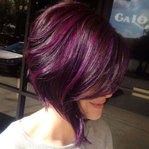 eggplant hair color tumblr