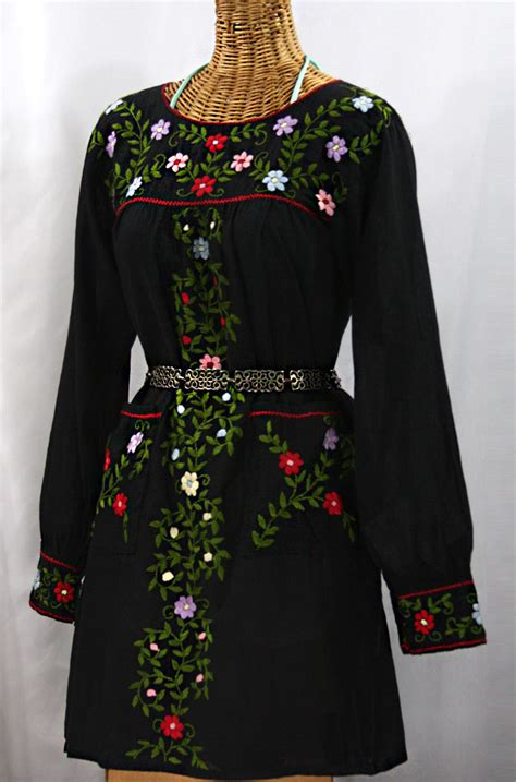 embroidered peasant dresses