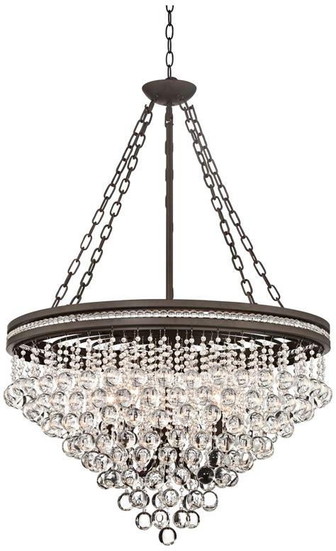wide chandelier olive bronze 28 quot wide chandelier dining