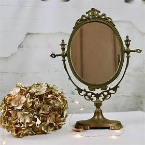 Miroir Sur Pied : miroir ancien psych sur pied pivotant en bronze r gule laiton poser ~ Teatrodelosmanantiales.com Idées de Décoration