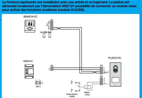 Schema Cablage Interphone