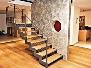 Stahltreppe Mit Holzstufen : meine ihr starker partner im bereich treppenbau ~ Orissabook.com Haus und Dekorationen