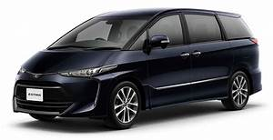 2016 Toyota Estima Facelift Officially Revealed In Japan Image 503755