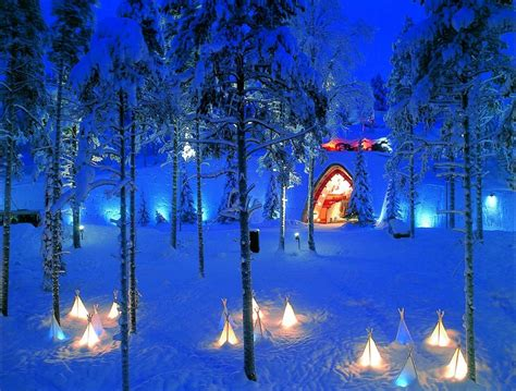 Santa Claus Land Of Lights top 10 attractions in lapland