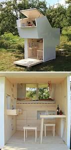 Tiny House Germany : mini case che sfruttano al massimo i piccoli spazi 40 micro case da vedere ~ Watch28wear.com Haus und Dekorationen