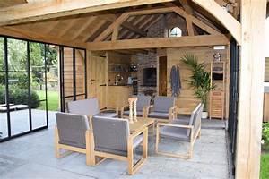 Poolhouse In Eik West Vlaanderen Realisaties Houten
