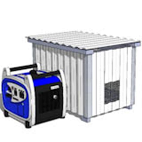 metal portable generator sheds portable generator enclosure plans diy shed plans by