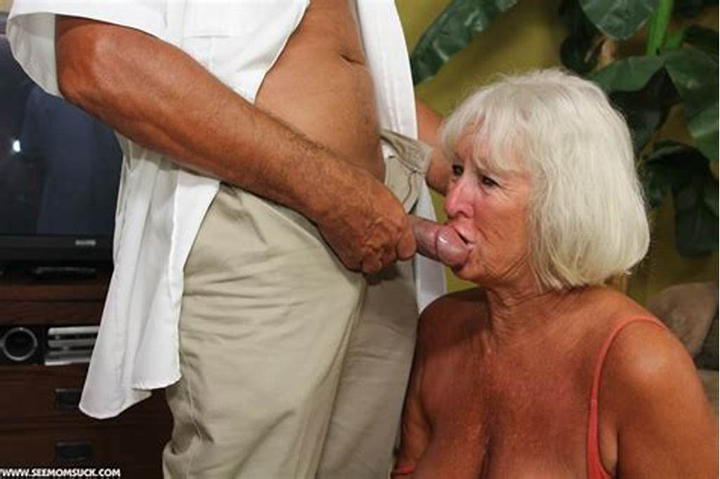 #Granny #Jeannie #Lou #Blows #A #Security #Guards #Cock