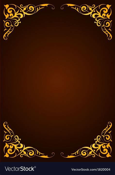elegant template  greeting card invitation vector image