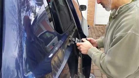 repair kia sedona sliding door youtube