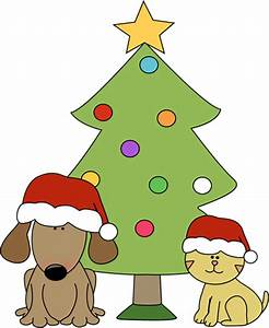 Christmas Cat And Dog Clipart - Clipart Suggest