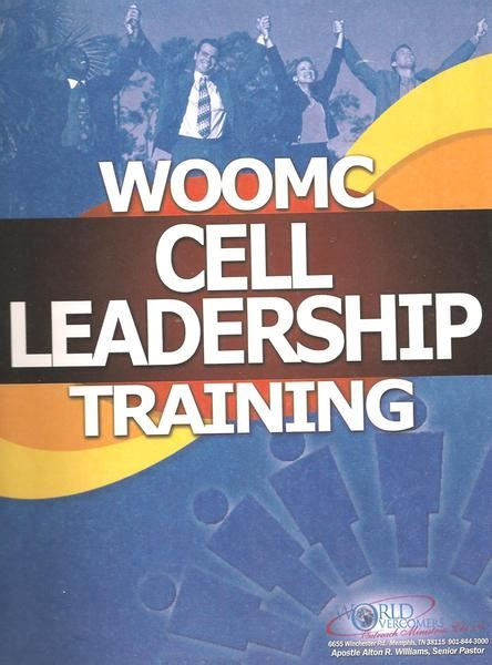 woomc cell leadership training manual understanding