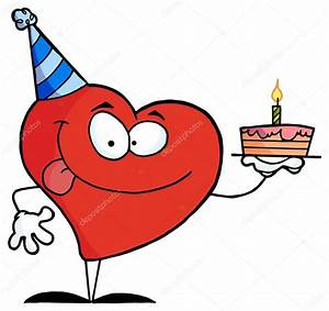 Gateau Anniversaire Dessin Animé : dessin anim coeur avec g teau d 39 anniversaire image vectorielle hittoon 61064765 ~ Melissatoandfro.com Idées de Décoration