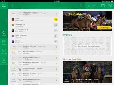tvg racing form tvg horse racing betting bet on saratoga del mar and